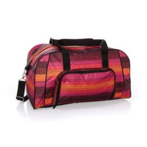 Thirty One All Packed Duffle Ombre Stripe RARE